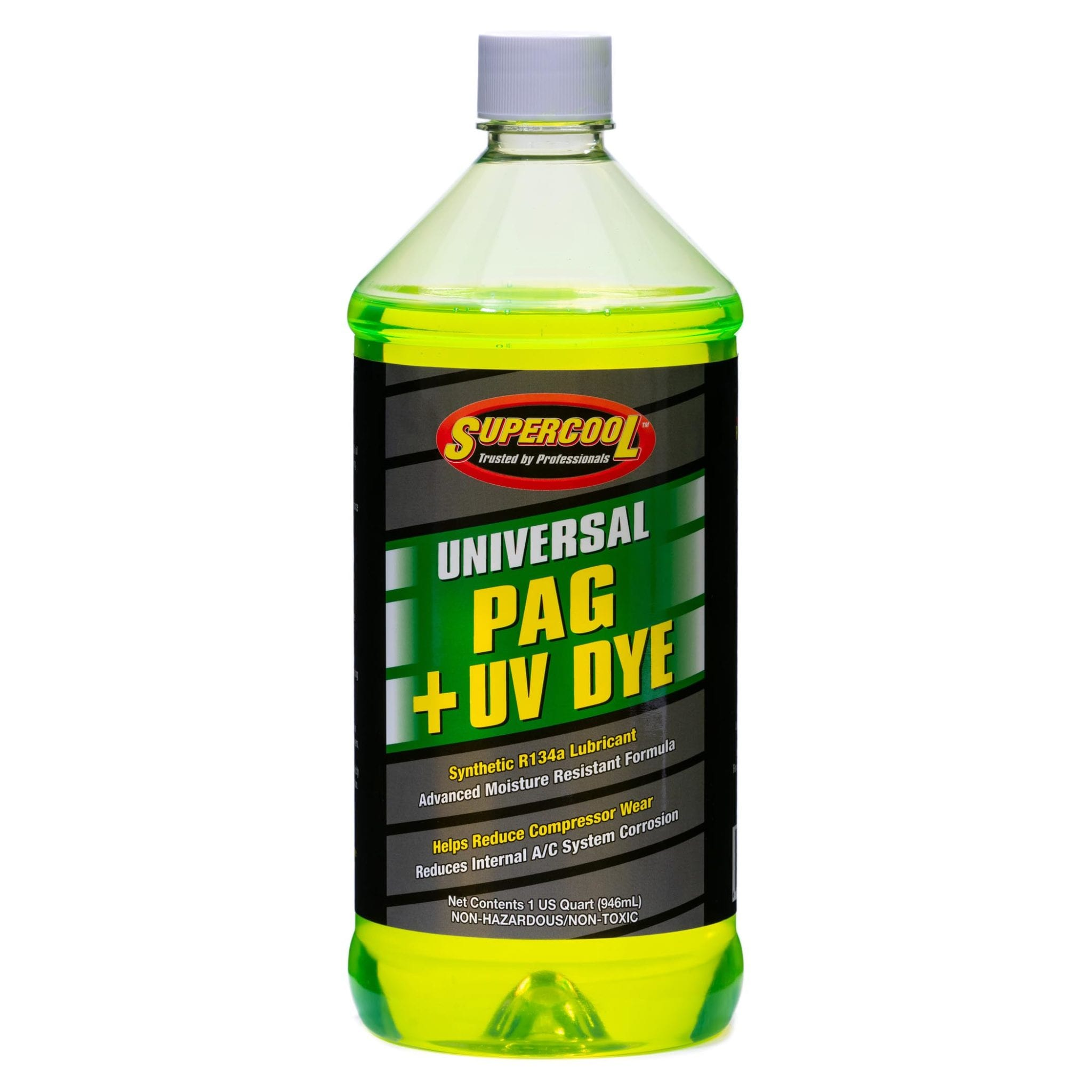 Universal PAG Oil with U/V Dye Quart