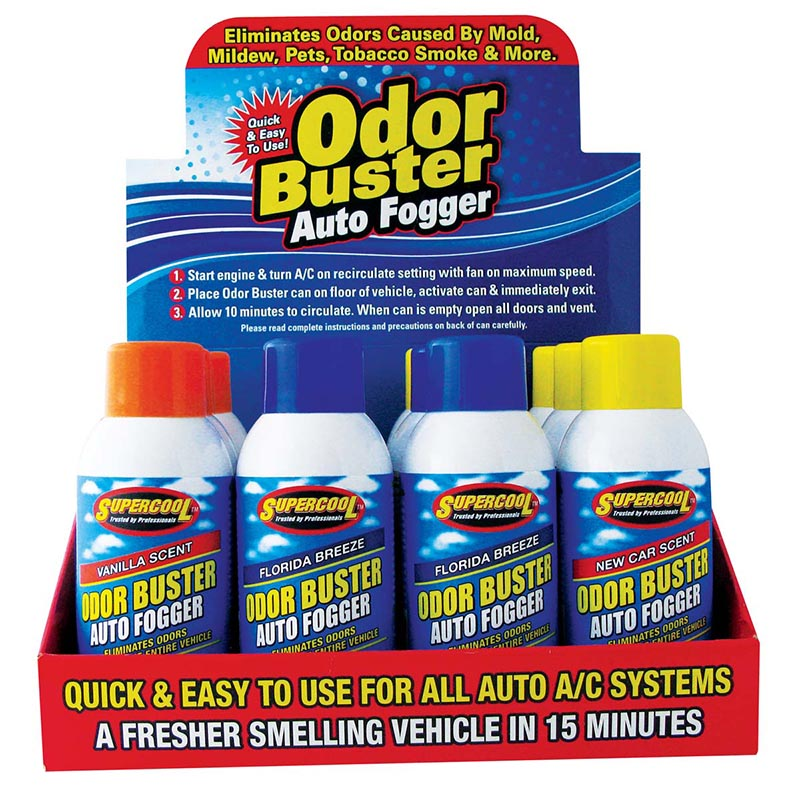 Odor Buster Auto Fogger 12 pc. Counter Display